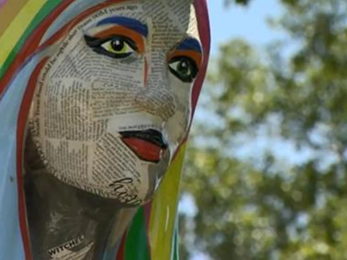 San Marcos Mermaid statues