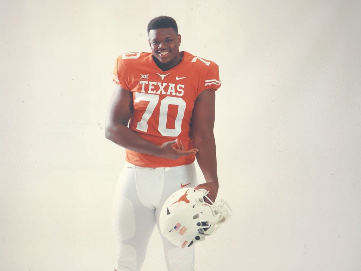 Texas football uniforms burnt orange
