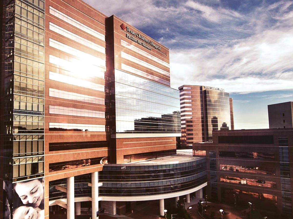 Texas Children's Hospital exterior Medical Center building