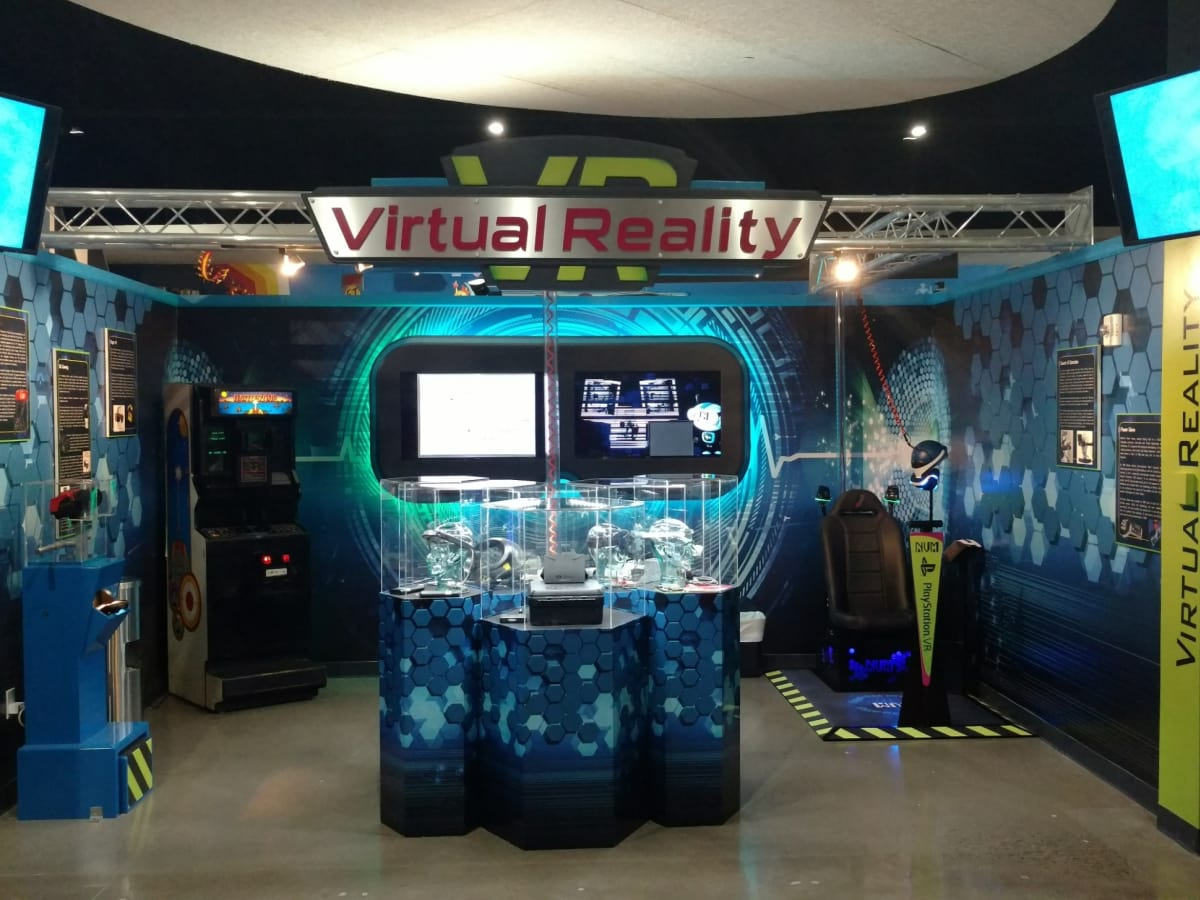 Virtual Reality exhibit, National videogame museum