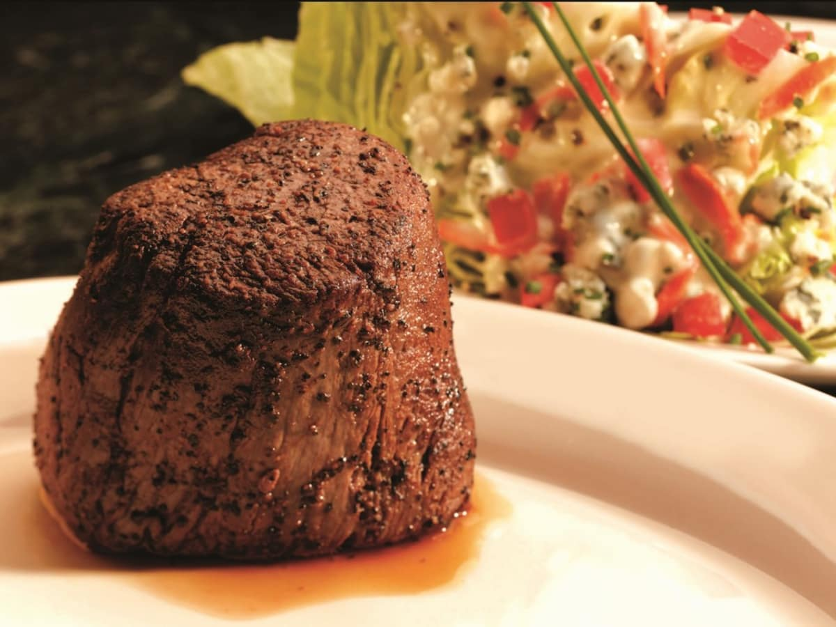 Vic & Anthony's filet