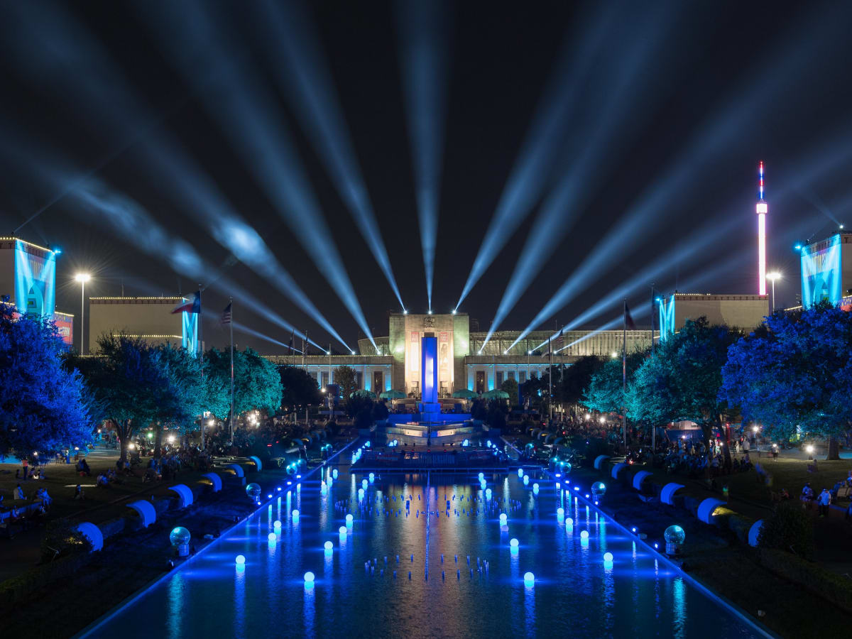 Illumination Sensation light show