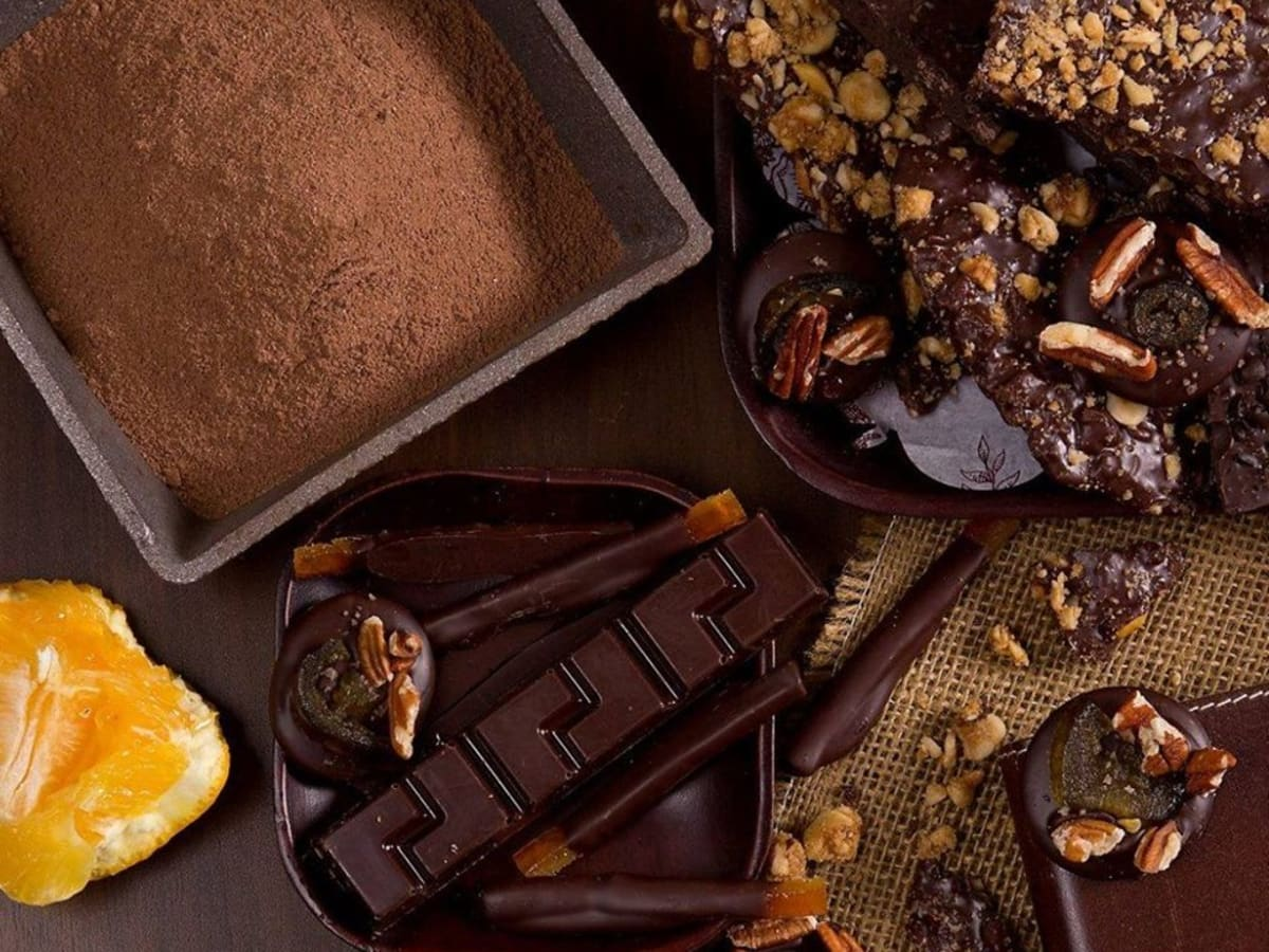 Dr. Sue's chocolate truffles