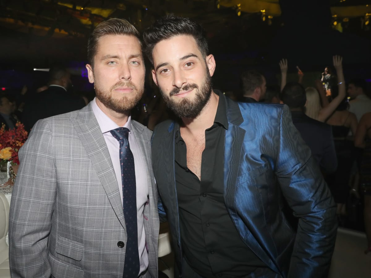 Lance Bass and husband