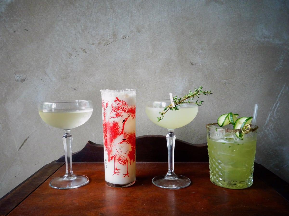 Lotus & Cleaver cocktails