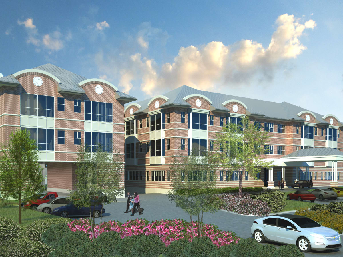 Ronald McDonald Holcombe House rendering