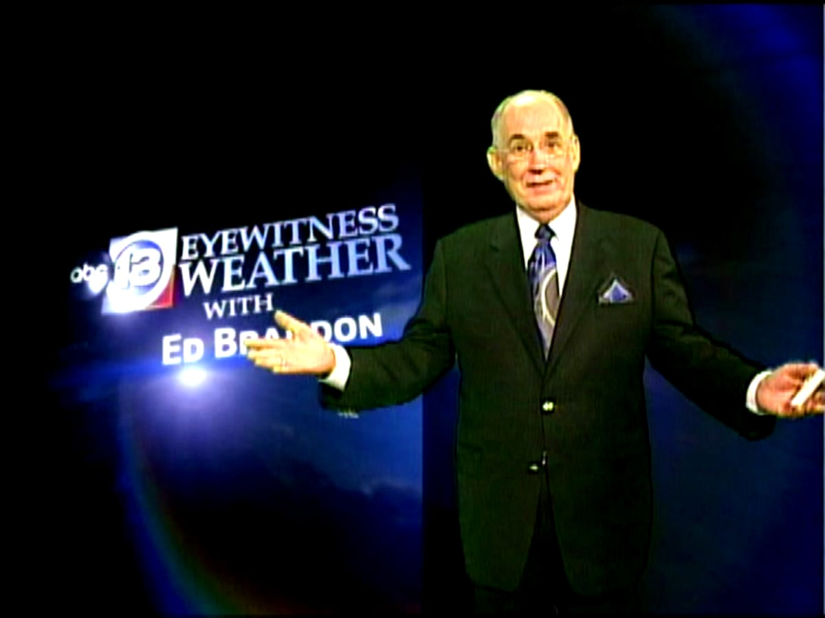 Ed Brandon on-air