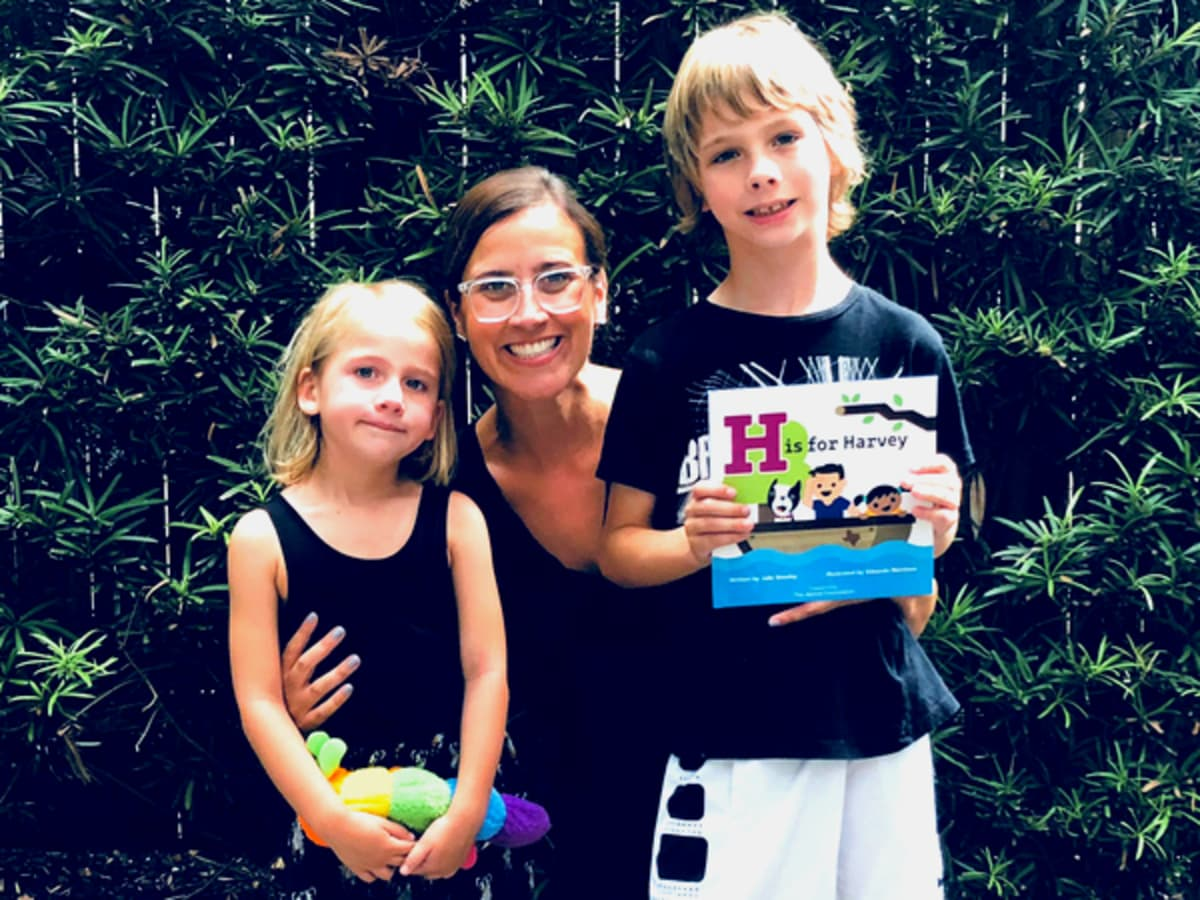 West University West U mother Hurricane Harvey children's book Julie Beasley