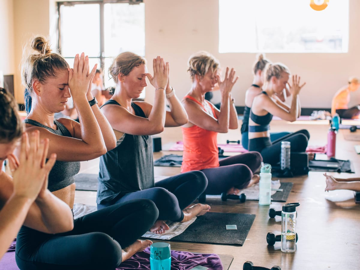 CorePower Yoga Frost pop-up