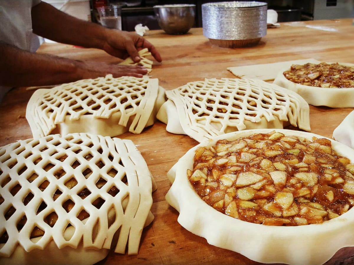 Sweetish Hill Bakery baking pies