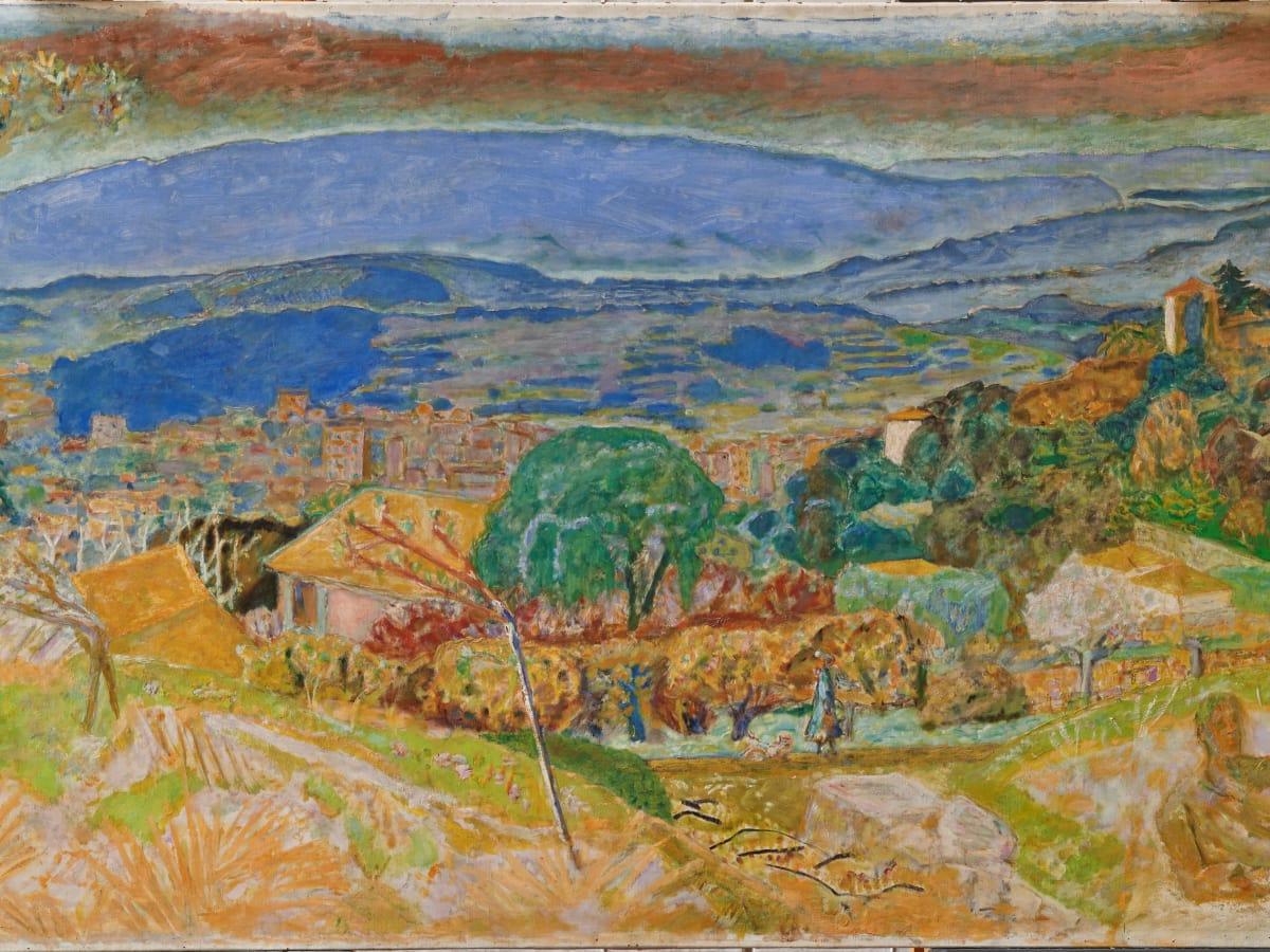 Kimbell art museum, Bonnard, Landscape at Le Cannet