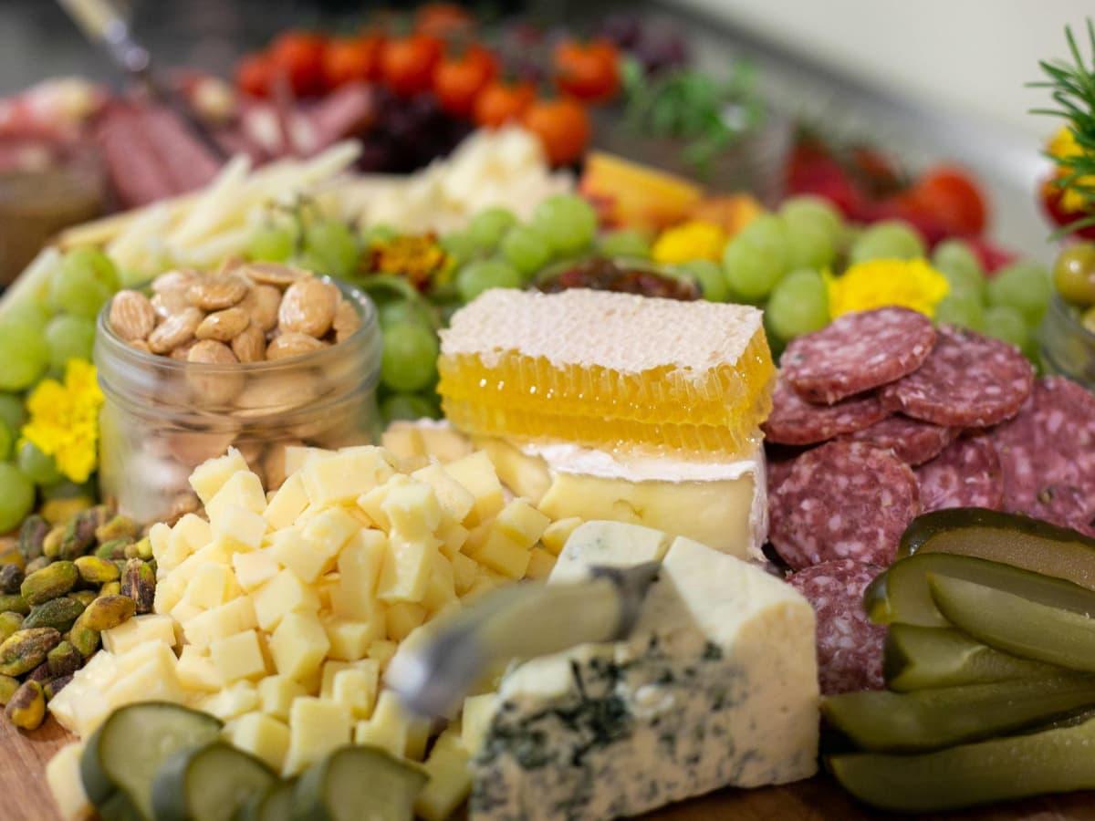 Larder SA cheese board