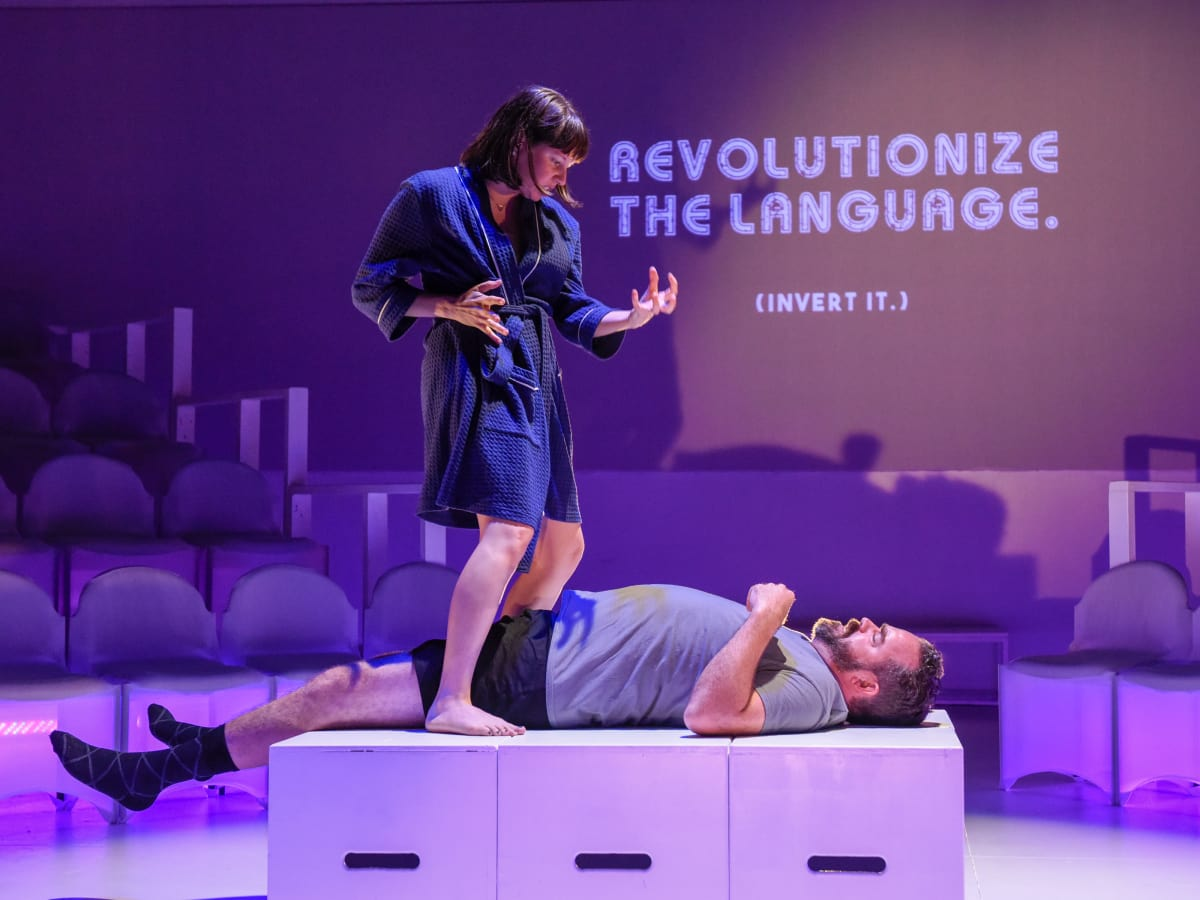 Revolt. She said. Revolt again. at Second Thought Theatre