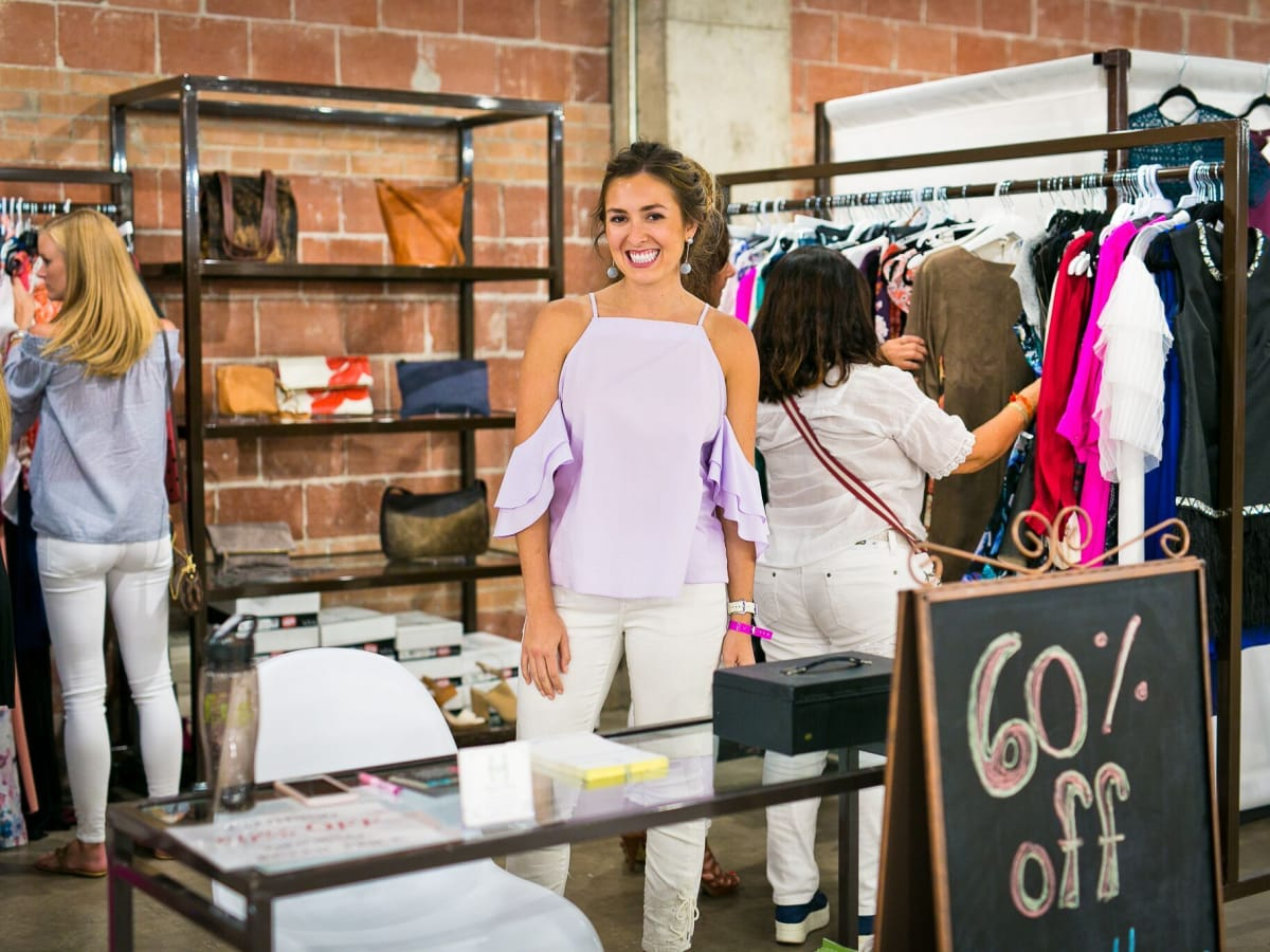 FIG Finale VIP shopping event