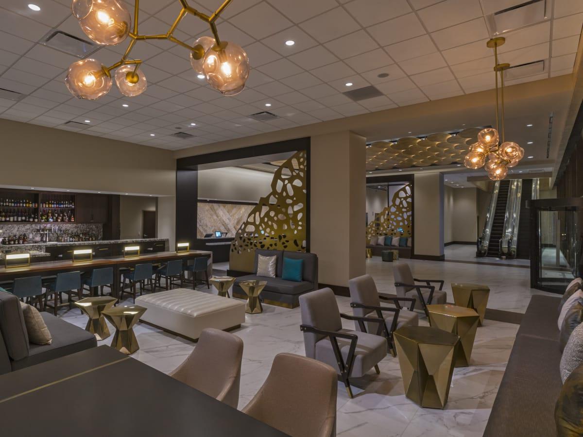 The Westin Galleria Houston lobby lounge