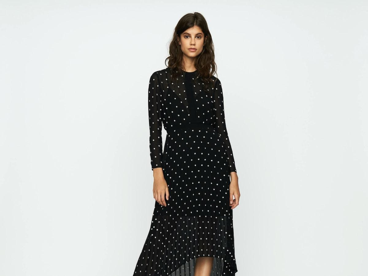 Houston fashion Maje dress