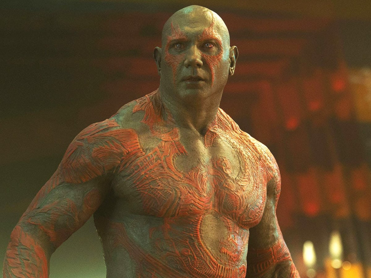 Dave Bautista Guardians of Galaxy