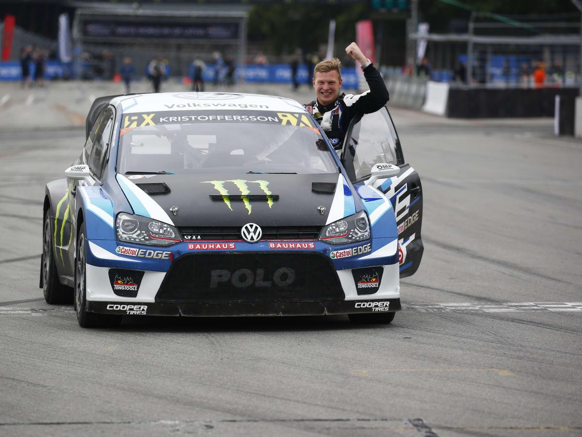 Racer Johan Kristoffersson