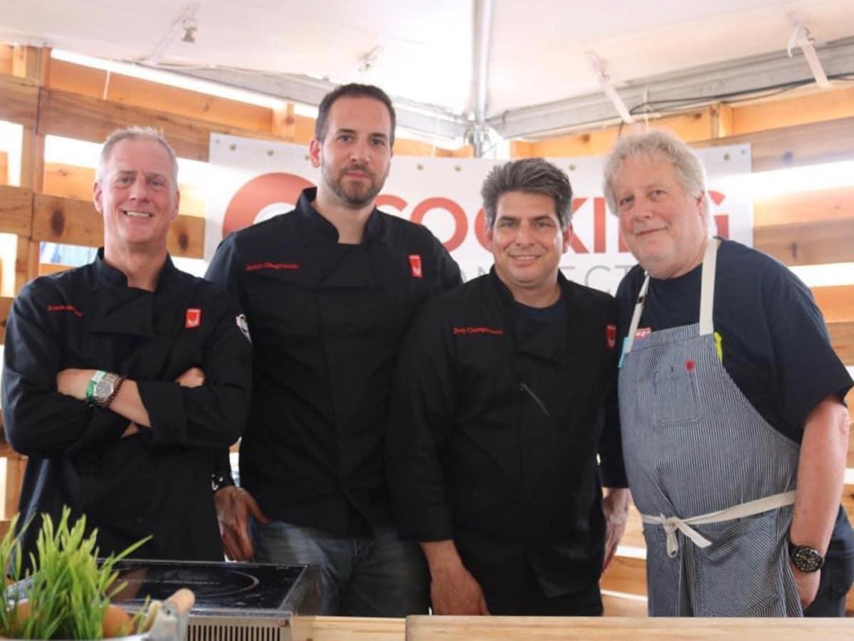 The Roastery Bellaire HEB Jimmy Bradley, Jason Giagrande, Joey Campanaro, Jonathan Waxman