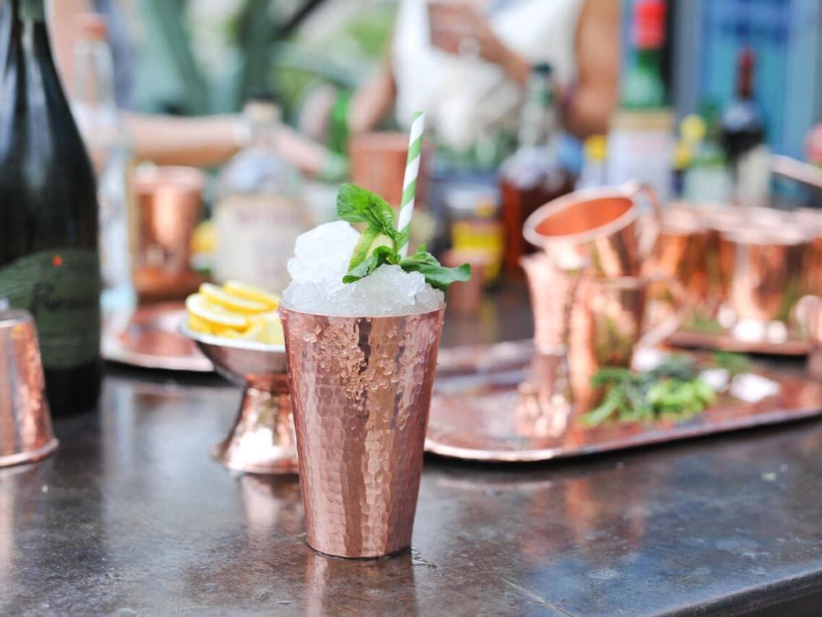 Sertodo Copper barware