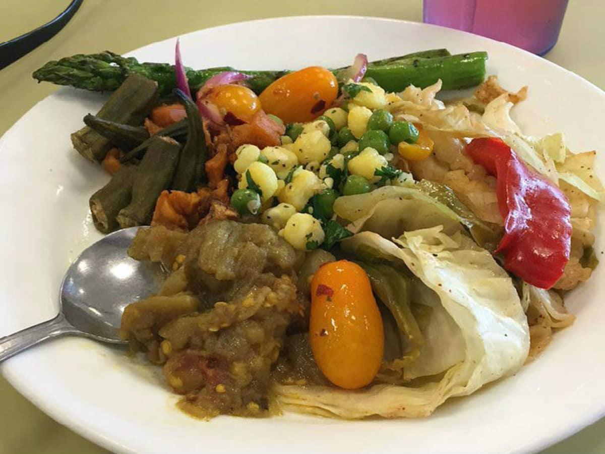 Mean Greens vegan cafeteria