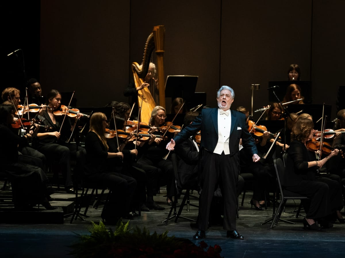 Houston Grand Opera Placido Domingo ball