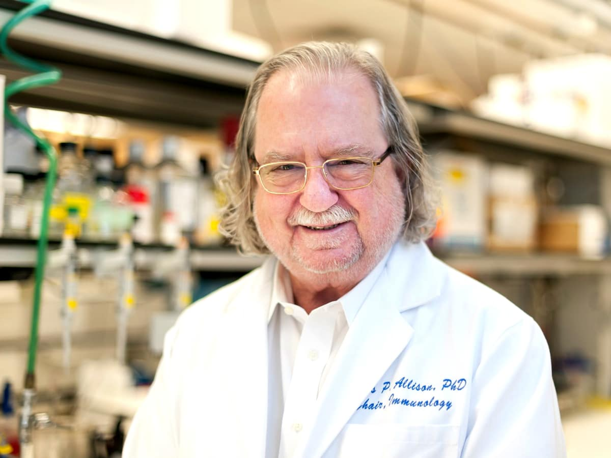 Jim Allison MD Anderson Nobel Prize