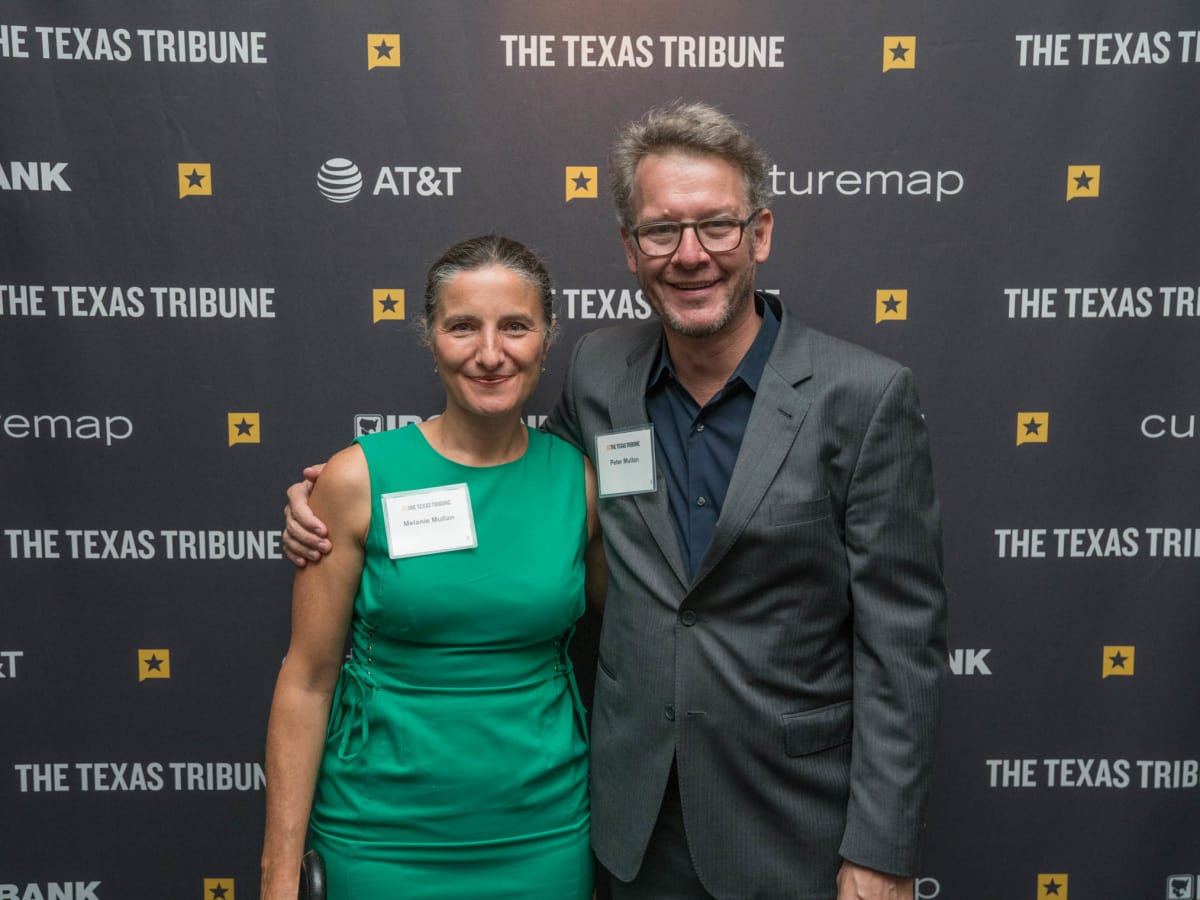 Texas Tribune Festival 2018 VIP Cocktail Hour at Brazos Hall Melanie Mullan Peter Mullan