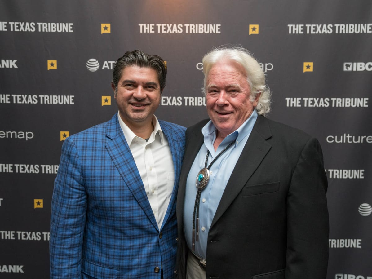Texas Tribune Festival 2018 VIP Cocktail Hour at Brazos Hall Eddie Rodriguez Dan Bullock