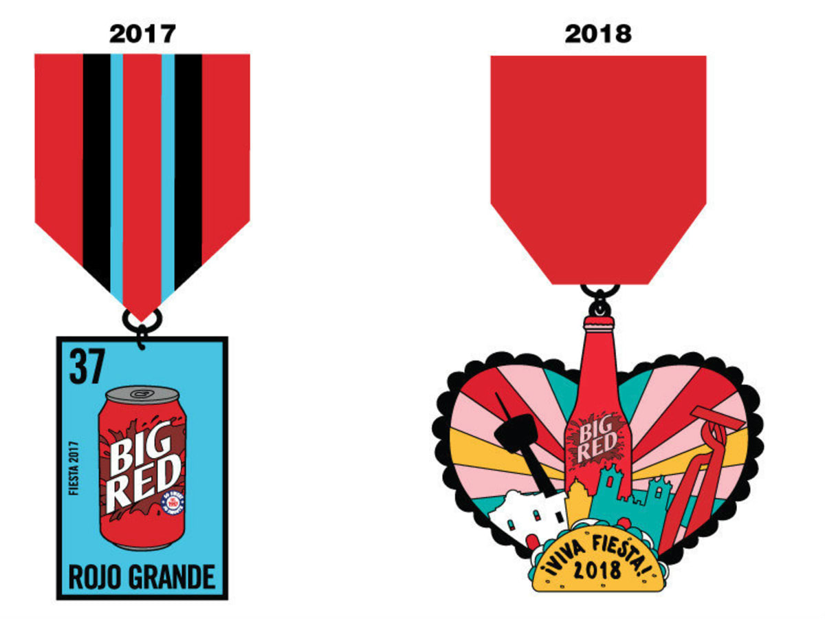 Big Red Fiesta Medals