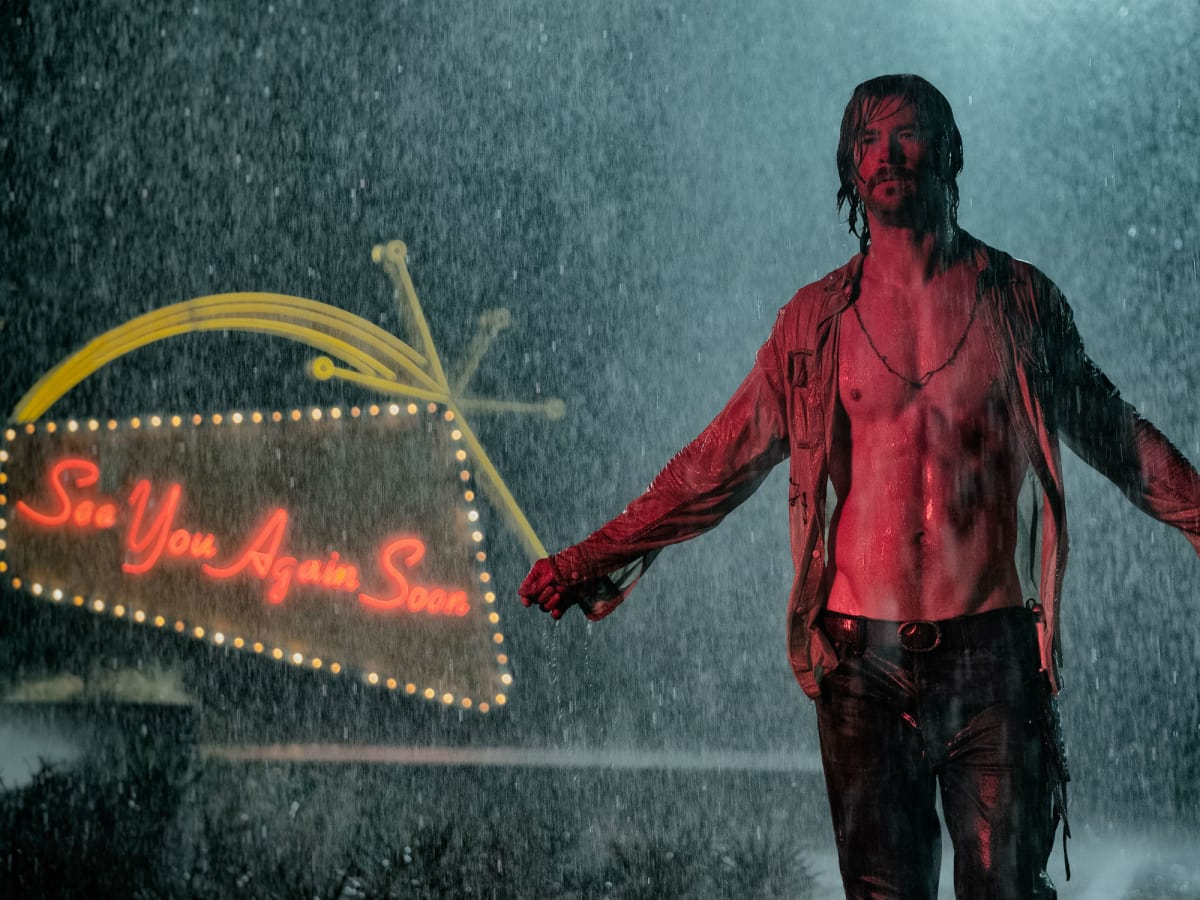 Chris Hemsworth in Bad Times at the El Royale