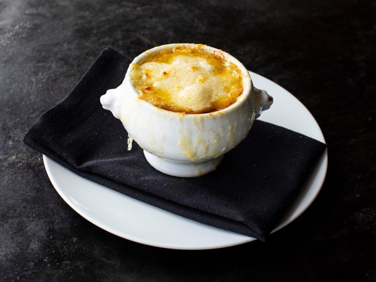 Georgia James steakhouse French onion soup