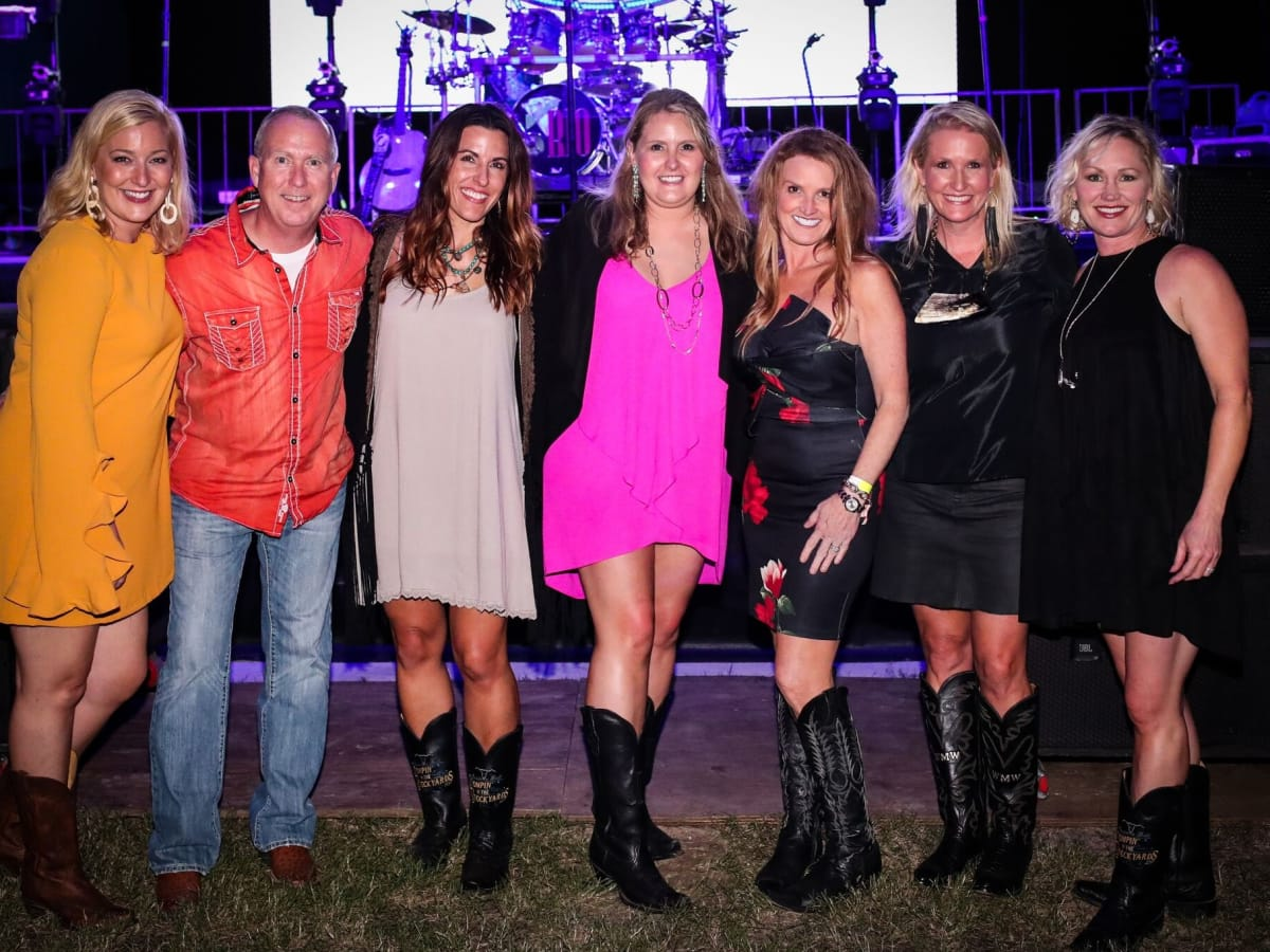 Elizabeth Humble, Jeff Deets, Carla Collins, Cortney Craft, Kim Johnson, Wendy Wright, Jennifer William, Cowtown Ball