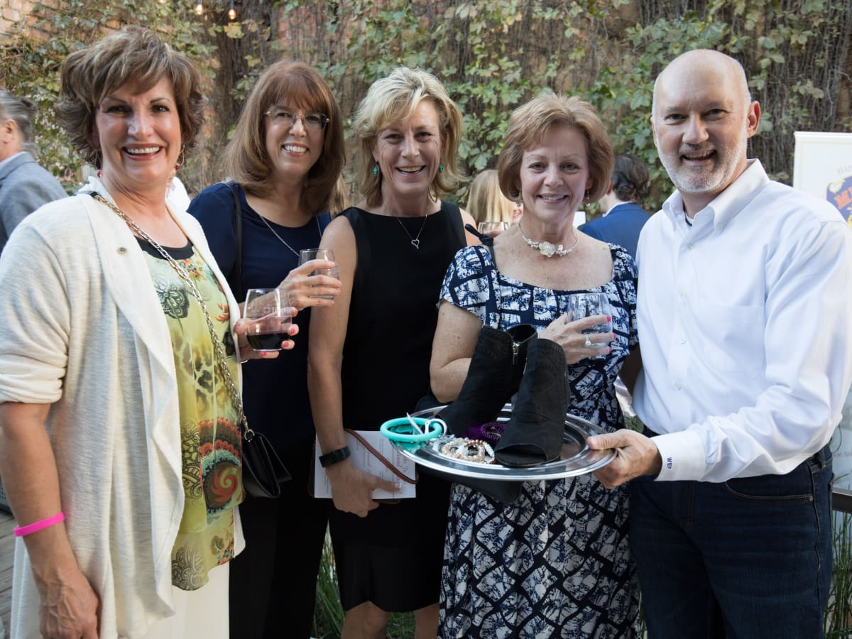 Liz Weaver, Terri Roberts, Paula Southard-Ramirez, Karen Green, Bill Fairley