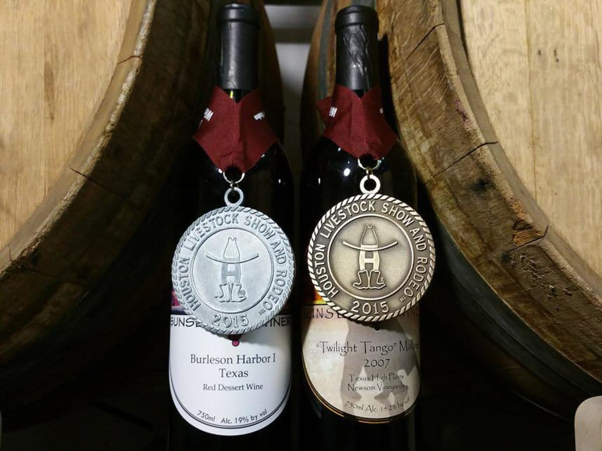 Sunset Winery wines