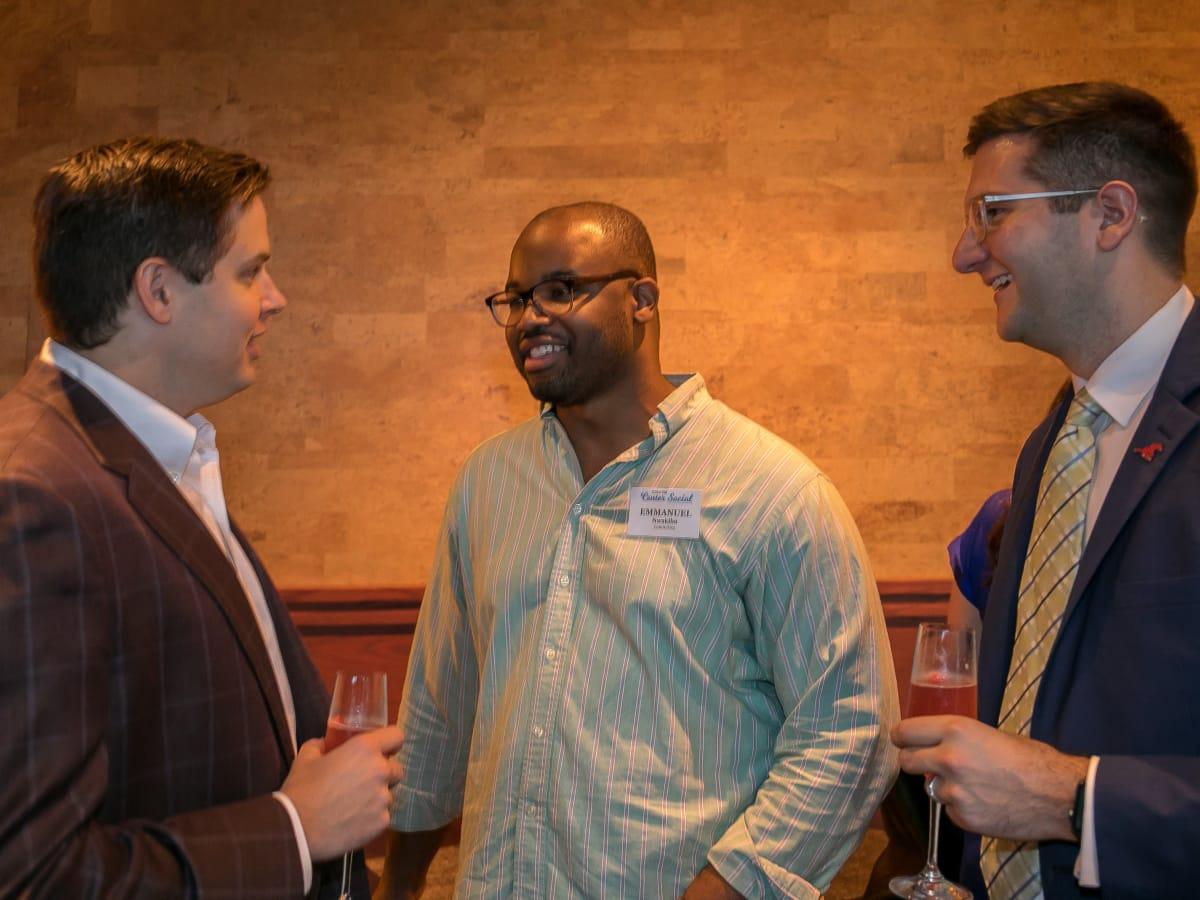Jarrett Link, Emmanuel Nwakibu, Michael Bailey