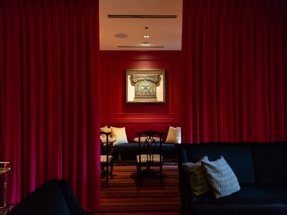 Whisper Room Austin interior