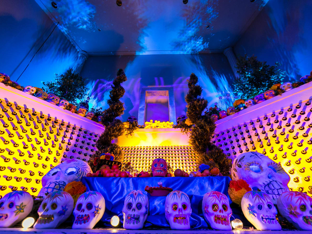 Altar at Orange Show Gala
