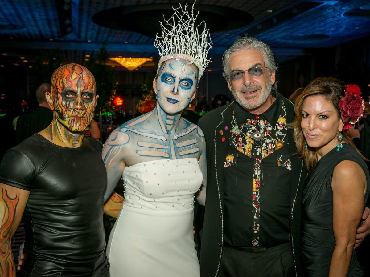 Surena Matin, Misty Matin, Glen Larner, Tracy Levit Larner - Orange Show Gala 2018