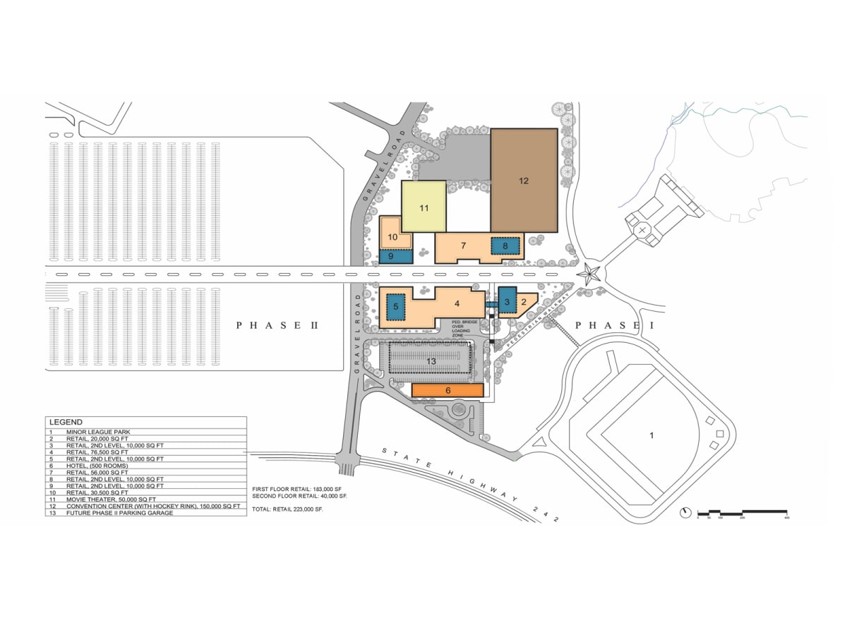 Grand Texas plans November 2013 site plan Phase II