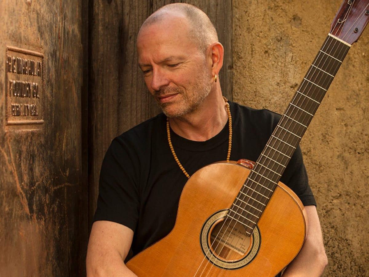 Ottmar Liebert promo pic guitar