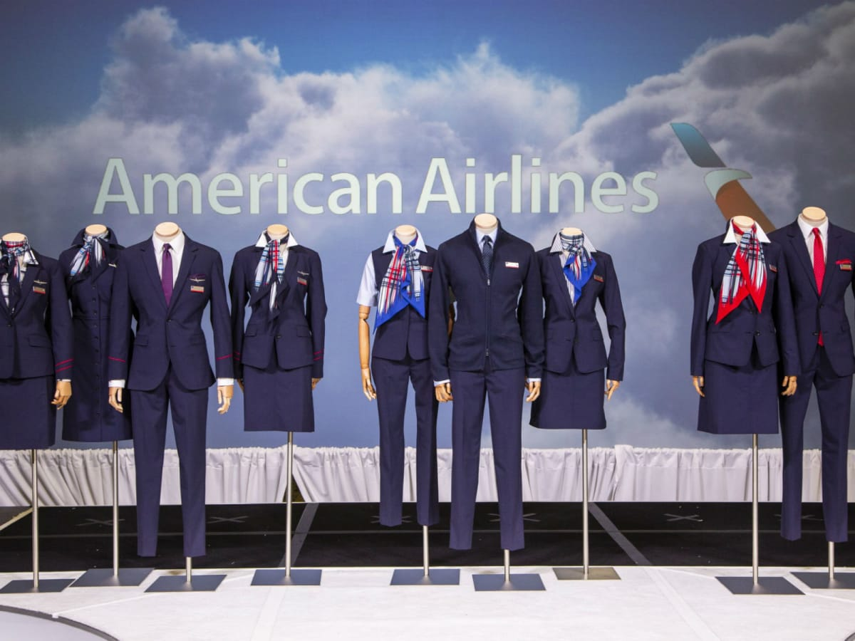 American Airlines uniforms