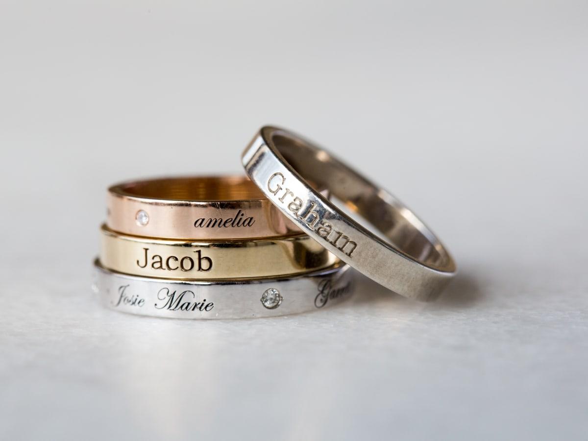 Golden Thread rings
