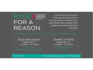 RYDE Inaugural Ryde For A Reason