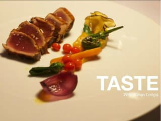 Food+City presents TASTE: Film by Kevin Longa