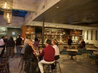 6 Wooster's Garden in Midtown December 2014 bar interior with people