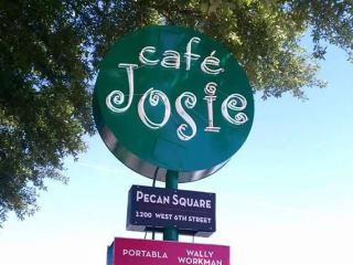 Cafe Josie_Austin restaurant_sign_2015