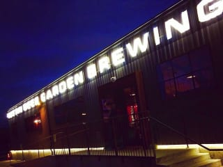 ABGB Austin Beer Garden and Brewery Exterior