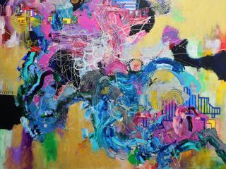 Cedar Valley College Art Gallery presents Yuni Lee: Creation, Evolution, Disco
