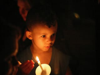 Hope's Door Candle Light Vigil